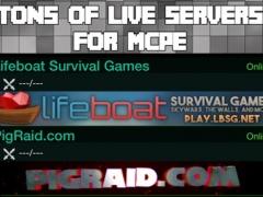 mini games minecraft pe servers