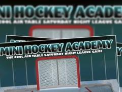 Mini Hockey Academy : The Cool Air Table Saturday Night League Game - Free 2.0 Screenshot