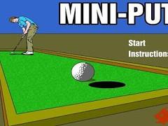 MINI PUTT 1.0 Screenshot