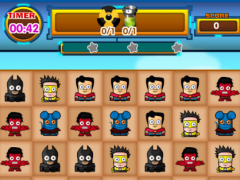 Mini Super Heroes City Match 3 3.0 Screenshot