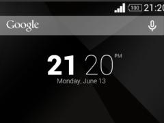 Minimal RED XPERIA Theme 1.0.0 Screenshot