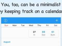 Minimalist - A minimalism app 1.1 Screenshot
