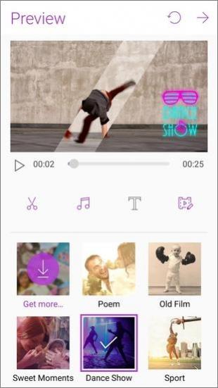 MiniMovie – Free Video and Slideshow Editor