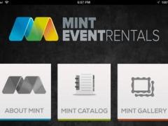 Mint Event Rentals 1.1 Screenshot