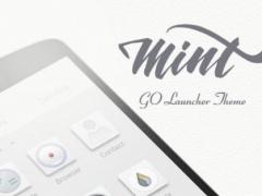 Mint GO Launcher Theme 1.0 Screenshot