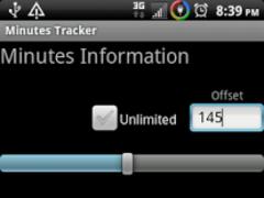 Minutes Tracker 3.0 Screenshot