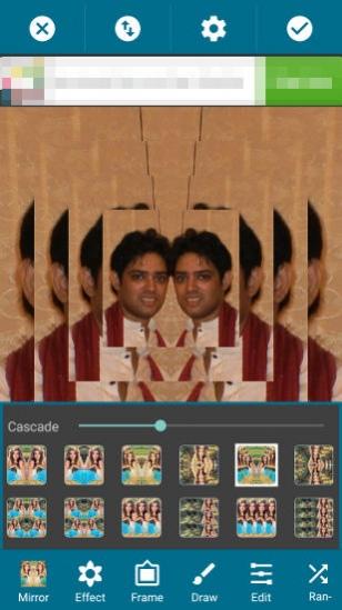 Mirror Photo: Editor&Collage