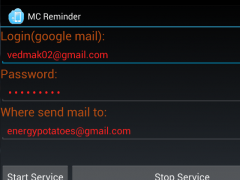 Missed Calls Reminder 1.0 Screenshot