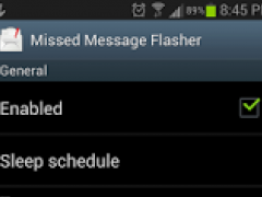 Missed Message Flasher Donate 0.41 Screenshot