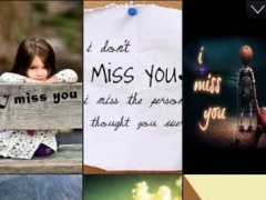 Missing You Wallpapers- I Miss You Quotes & Photos 1.0 Screenshot