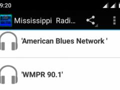 Mississippi Radio Stations 1.1 Screenshot