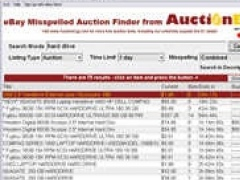 Misspelled Auction Tool 2.0 Screenshot