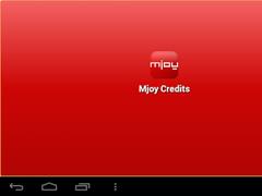 MjoyCredits 1.02 Screenshot