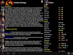 MK9 Dashboard ($1 - 1st 100) 1.16 Screenshot