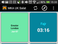 MKA UK Salat App 1.2.4 Screenshot