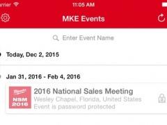 MKE Events 1.2 Screenshot