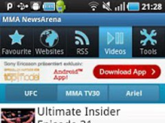 MMA NewsArena 2.2.1 Screenshot