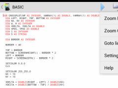Mobile BASIC 4.12 Screenshot
