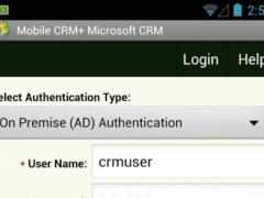 Mobile CRM+ MS Dynamics CRM 1.84.0 Screenshot