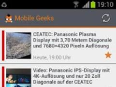 Mobile Geeks 2.0 Screenshot