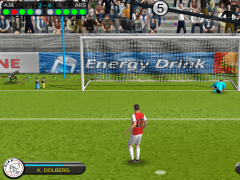 Review Screenshot - Football Game – Shoot Your Way to the Top