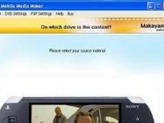 Mobile Media Maker (PSP) 1.5.2 Screenshot