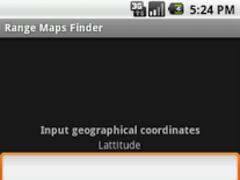Mobile Range Maps Finder 1.0 Screenshot