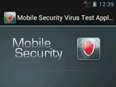Mobile Security Virus Test 1.4 Screenshot