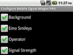 Mobile Signal Widget PRO 1.2 Screenshot