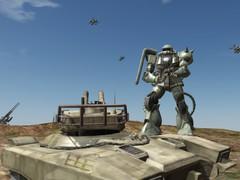 Mobile Suit Gundam: Target in Sight Screensaver (PS3) 1.0 Screenshot