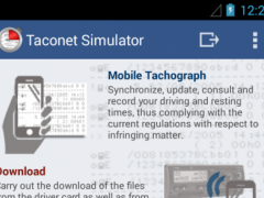 Mobile Tachograph 2.5.1 Screenshot