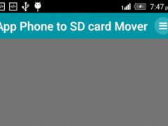 Mobile To SD card Mover 1.2 Screenshot