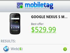 Mobiletag QR Barcode Scanner 4.0.7 Screenshot