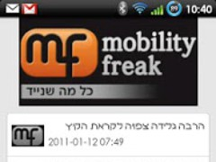 MobilityFreak 1.0.7 Screenshot