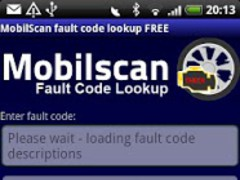 MobilScan DTC lookup FREE 1.0 Screenshot