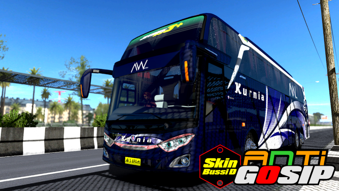 Mod Truck Canter Anti Gosip Bussid 1 5 Free Download