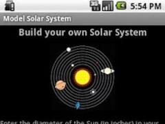 Model Solar System 1.5 Screenshot