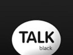 Modern Black for KAKAO Theme 1.1 Screenshot