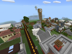 Modern City map for Minecraft 1.18 Free Download on