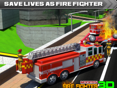 Modern Firefighter:City Fire 1.1 Screenshot