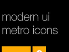 Modern UI Metro Icons 1.0.1 Screenshot