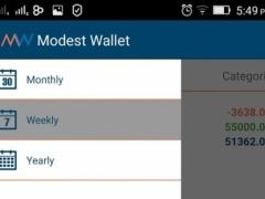 Modest Expense Manager 1.0 Screenshot