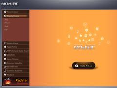 Modiac Video Converter 2.5.0.4164 Screenshot
