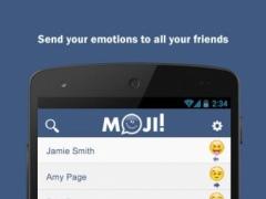 Moji! - The Emoji Messenger  Screenshot