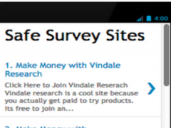 Money For Surveys Paid Surveys 1.0 Screenshot
