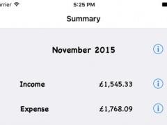 Money Monthly Lite 1.4.1 Screenshot