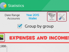 MoneyMe, Expenses manager 2.2 Screenshot