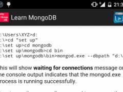 MongoDB Data 1.1 Screenshot