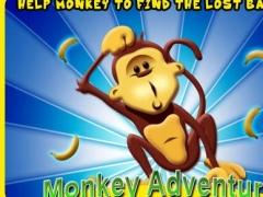 Monkey Adventure HD LITE 1.0 Screenshot
