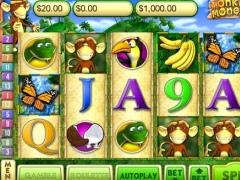 Monkey Money Slots Deluxe 9.80 Screenshot